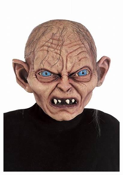 Mask Gollum Scary Lord Rings Smeagol Halloween