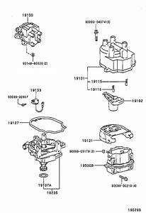 Toyota T100 Distributor Cap  Distributor Cap   Ignition