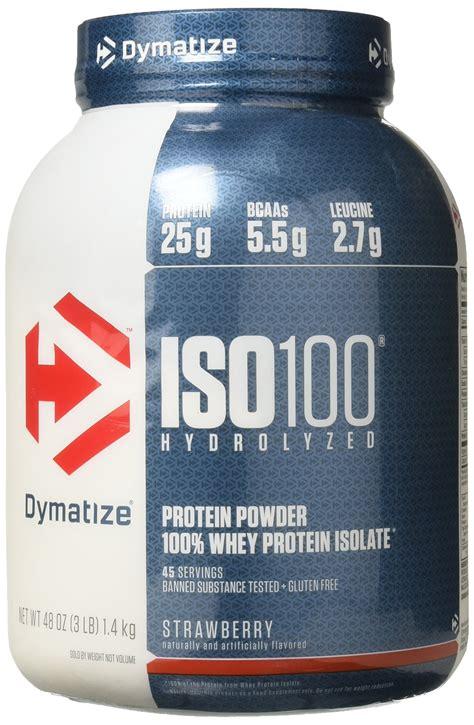 Amazon.com: Dymatize ISO 100 Whey Protein Powder Isolate