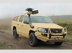 Rheinmetall Defense outfits Volkswagen Amarok for world