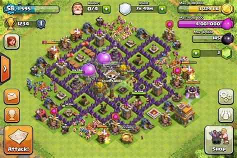 clash  clan village parfait hdv  ma maison personnelle