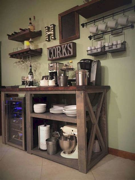 There are several bar cabinet ideas for all those of you who don't have the space for a large bar for coffee and wine places. 24 Best Corner Coffee Wine Bar Design Ideas For Your Home ...