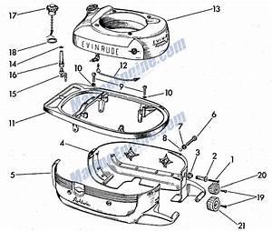 evinrude fuel tank motor cover parts for 1958 3hp 3026 With diagram evinrude gas tank parts johnson outboard fuel pump diagram