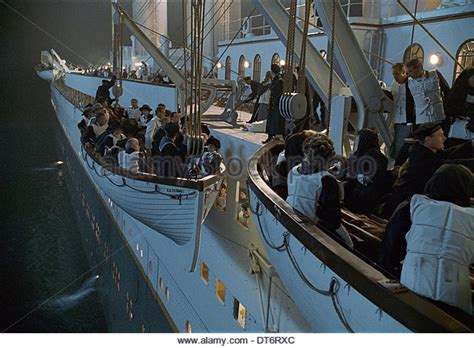 Titanic Movie Boat Sinking Scene by Titanic Ship Titanic 1997 Stock Photos Titanic Ship