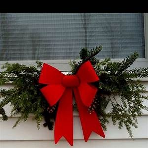 I, Made, These, Swags, Out, Of, Christmas, Tree, Scraps, Pine, Cones, And, A, Large, Bow, They, Look, Amazing