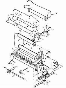 Desa Natural Gas Log Heater Parts