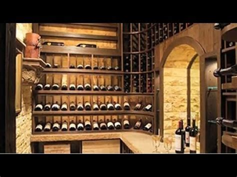 Making A Home Wine Cellar  Youtube