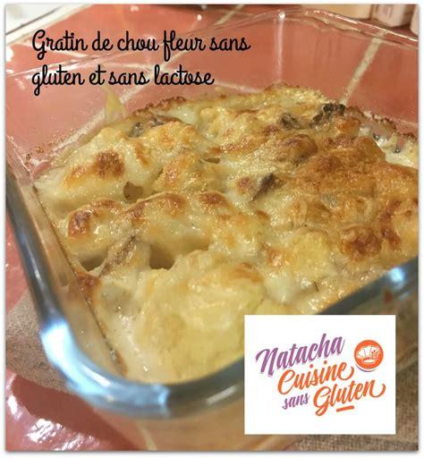 recette cuisine sans gluten gratin de chou fleur chèvre sans gluten sans lait ma