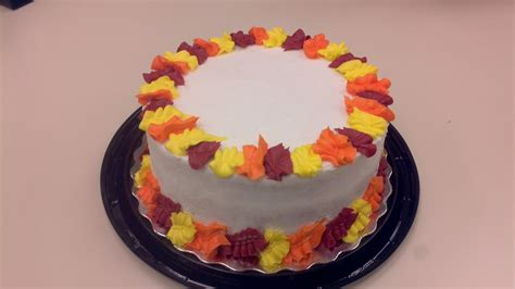 Frosting, Cakes, And Creativity Fall Cake And Cupcake