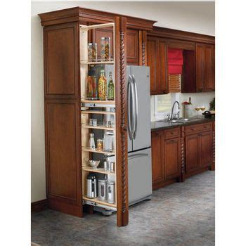wide tall cabinet filler organizers  unit