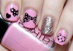cute pink nails for girls - Nail Designs Picture