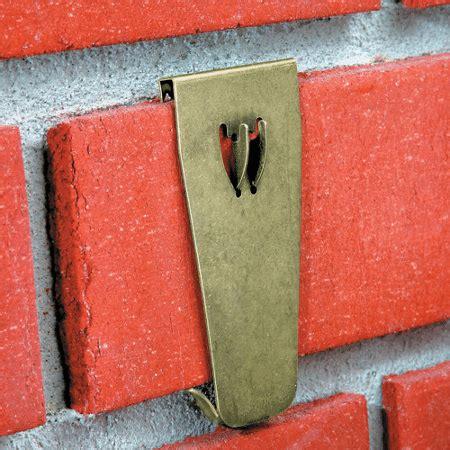 hooks for stockings on brick hanging 101 larry