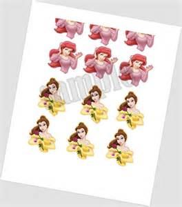 Disney Princess Printable Cake Pop Toppers