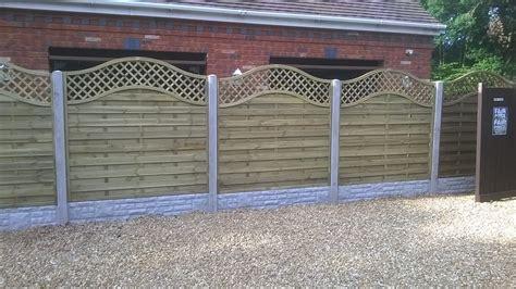 Decorative Concrete Fence Panels