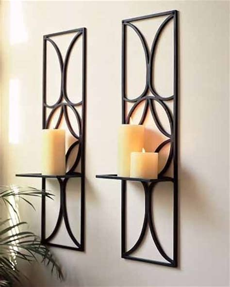 wall candle holders candle holders and candles on pinterest