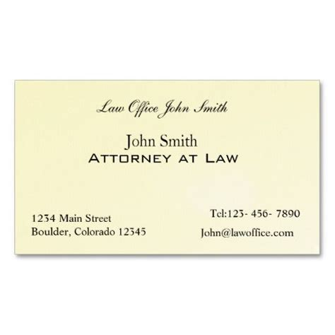 attorney  law office business card template lawyer