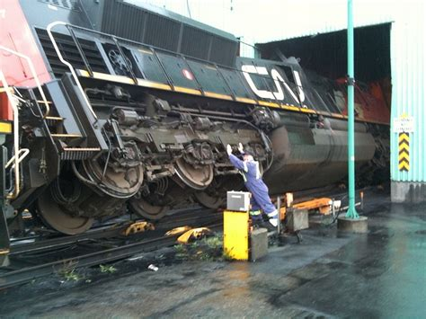 Coal Car Dumper by Canadian Railway Observations April 2010
