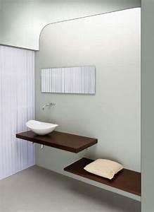 Waschbecken Mit Holzplatte : waschbecken aus keramik mit holzplatte idfdesign ~ Michelbontemps.com Haus und Dekorationen