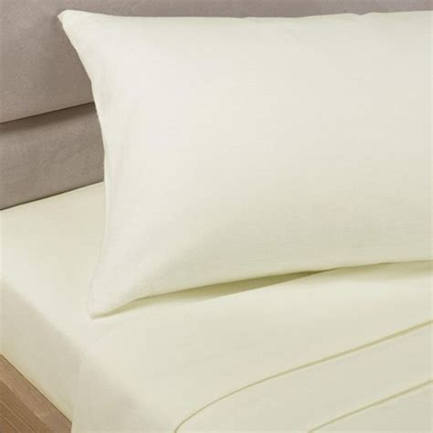 percale cream fitted sheet extra deep tonys textiles