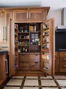 Freestanding, Pantry, Cabinets, U2013, Kitchen, Storage, And, Organizing, Ideas