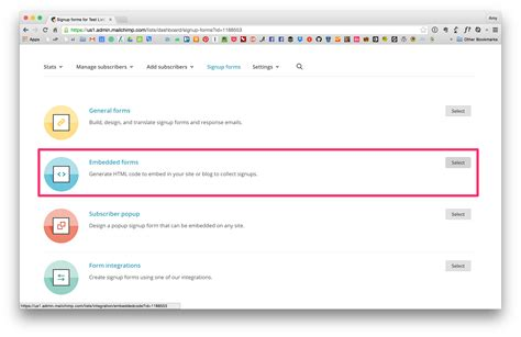 mailchimp embed signup form how to segment your mailchimp list into groups