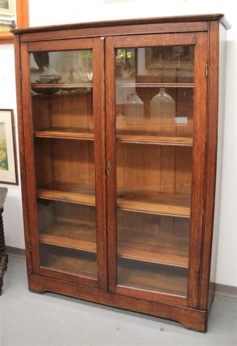Mission Bookcase Glass Doors by Found In Ithaca 187 Mission Oak Glass Door Bookcase Sold