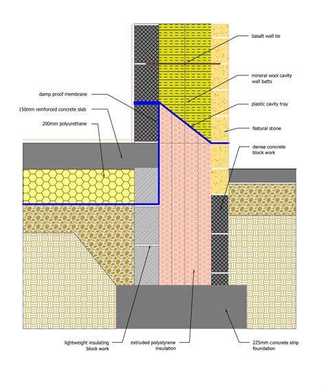 Golcar Passivhaus: Ground floor & foundations   Green