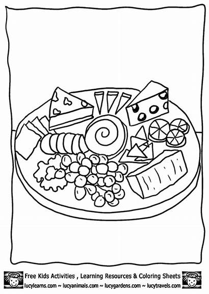 Cheese Coloring Pages Printable Mouse Template Printables