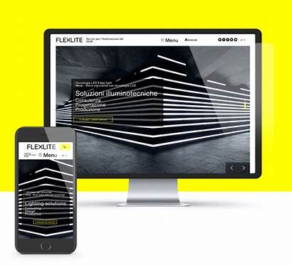 Website Flexlite Pleasure Present Layout Designed Graphic