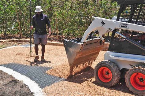 walk underlayment permeable gravel driveways stabilized for vehicle and