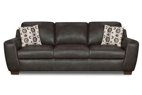naples leather sofa naples 3 2 seater black thesofa