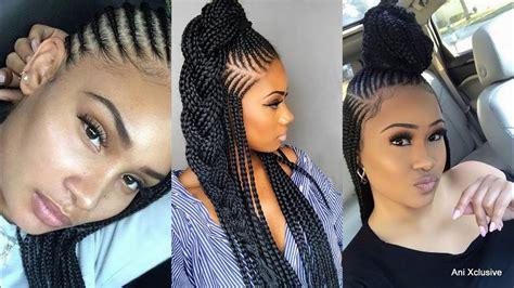 2019 Trendy Ghana Braids,cornrow Hairstyles Best Stylish