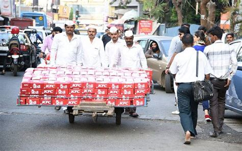 Mumbai's famous dabbawalas employed by KFC to deliver meal ...