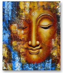 Balinese Buddha Face Painting