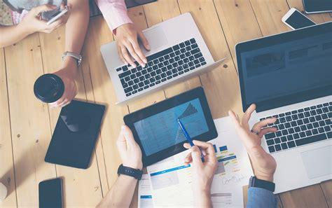 Creative Wallpaper Digital Marketing Background by Business Blogging Facts Statistics