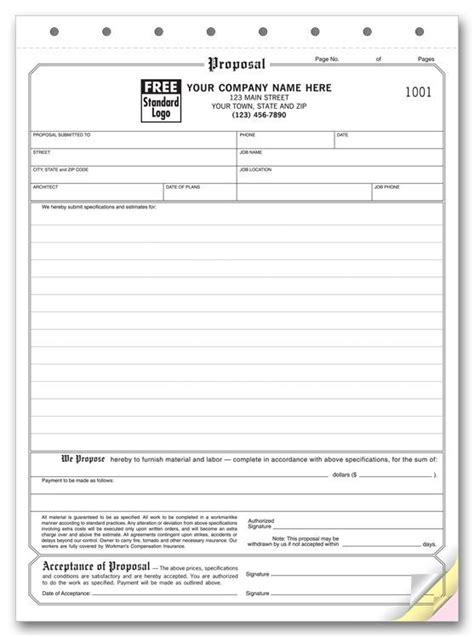 printable proposal sheet proposal acceptance