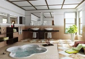 Photo Salle De Bain Moderne : une salle de bain moderne avec spa ~ Premium-room.com Idées de Décoration