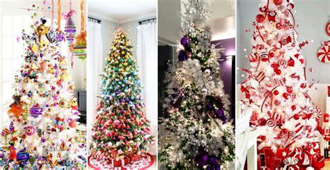 20 estupendas ideas para decorar arbol de navidad