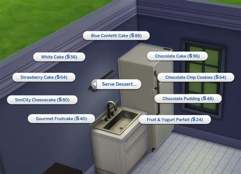 cuisine customiser mod the sims custom food interactions update 22nd dec
