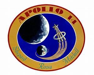 Apollo 14 Mission Decal
