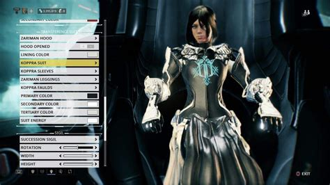 Warframe Operator Tenno Suits Pictures To Pin On Pinterest