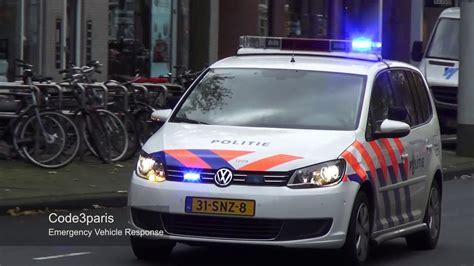 amsterdam politie prio  police car responding