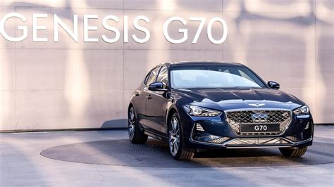 2018 Genesis G70 Sports Sedan Goes Official, Looks Fairly