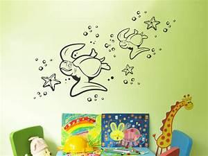Wandtattoo Für Babyzimmer : wandtattoo schildkr ten unter wasser ~ Markanthonyermac.com Haus und Dekorationen