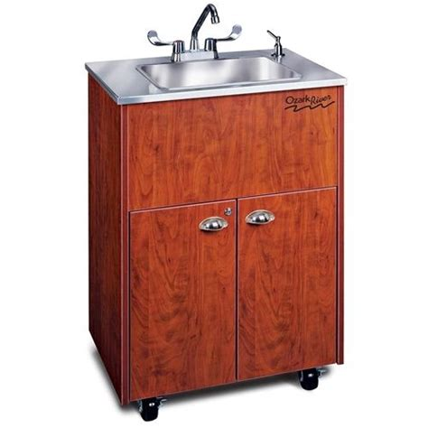 Ozark River Portable Sinks by Ozark River Portable Sink Stainless Top With Single