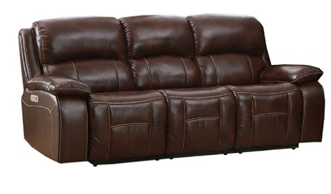 Top Grain Leather Recliner Sofa by Westminster Top Grain Leather Power Reclining Sofa Power