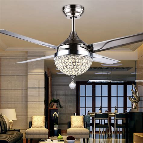 modern bedroom ceiling fans gale crystal light led ceiling light restaurant bedroom