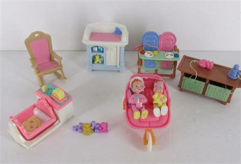 Fisher Price Loving Family Dollhouse Furniture Nursery