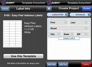 new avery templates everywhere iphone app shoplet blog With avery label app