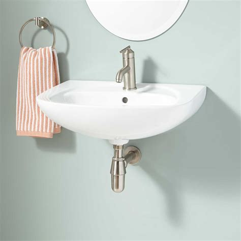 abrams wall mount bathroom sink bathroom